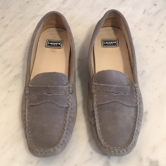 b05687909 LACOSTE Paris Shoes - Lacoste Women s Suede Driving Loafers